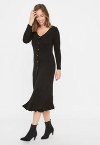 MAMALICIOUS - Jumper dress - black - 1