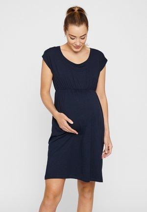Jersey dress - dark-blue denim