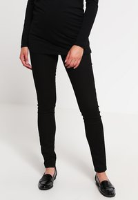 MAMALICIOUS - MLJULIANE - Slim fit jeans - black - 0