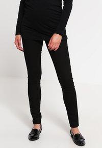 MAMALICIOUS - MLJULIANE - Jeans slim fit - black - 0