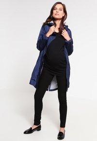 MAMALICIOUS - MLJULIANE - Jeans slim fit - black - 1