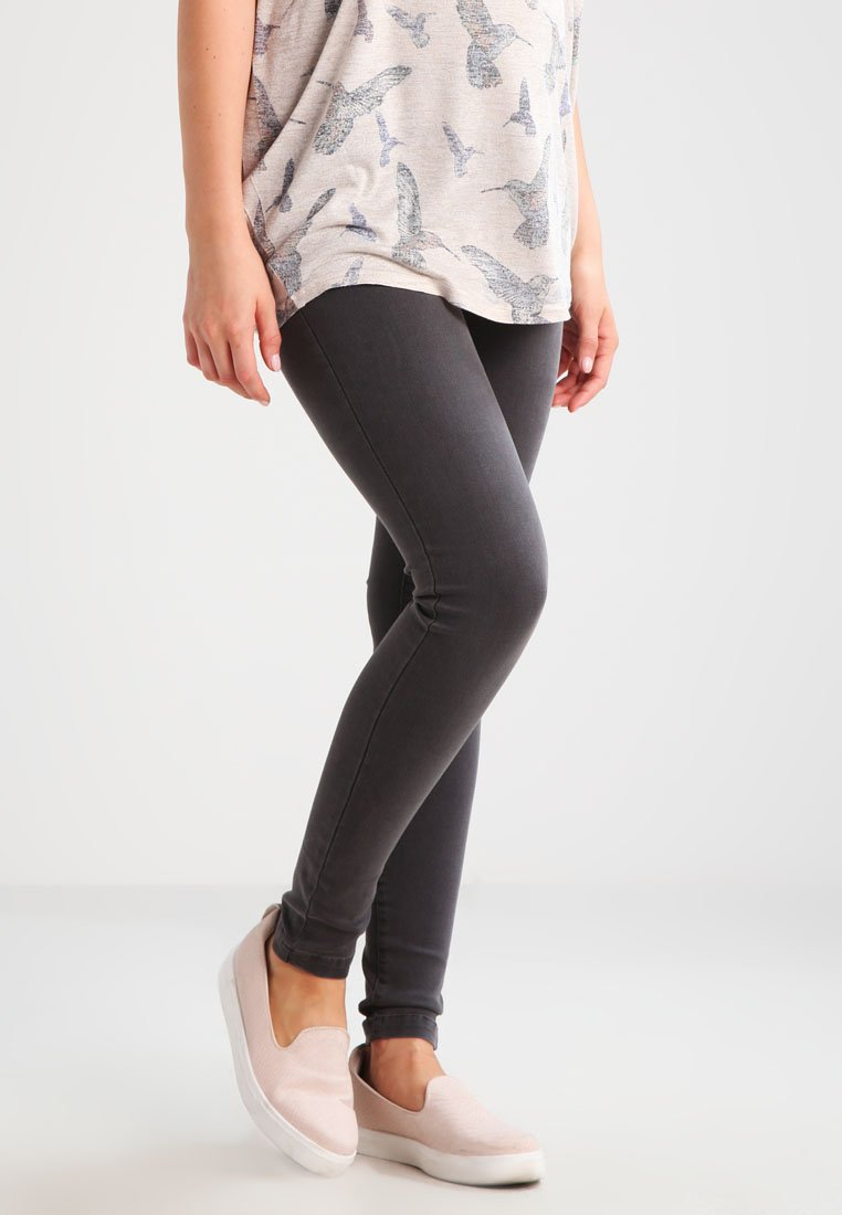 MAMALICIOUS - MLELLA - Jeggings - grey denim