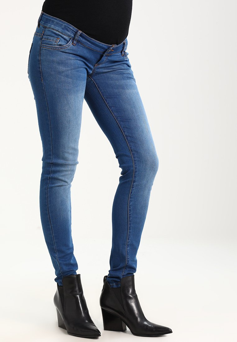 MAMALICIOUS - MLFIFTY  - Jeans Slim Fit - medium blue denim