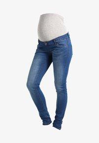 MAMALICIOUS - Jeans slim fit - medium blue denim - 5