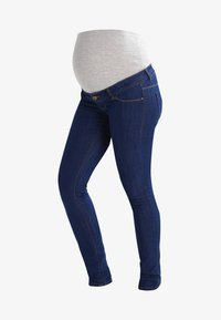MAMALICIOUS - MLJULIA  - Jeans Slim Fit - med blue denim - 5