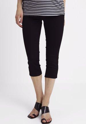 MLJULIANE CAPRI  - Denim shorts - black denim