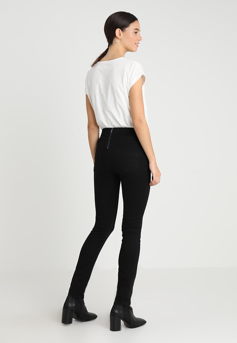 MAMALICIOUS Jeansy Skinny Fit - jeansblack denim