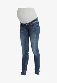 MAMALICIOUS - MLOHIO - Jeans slim fit - blue denim - 3