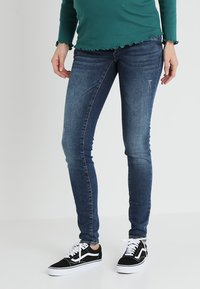 MAMALICIOUS - MLOHIO - Jeans slim fit - blue denim - 0
