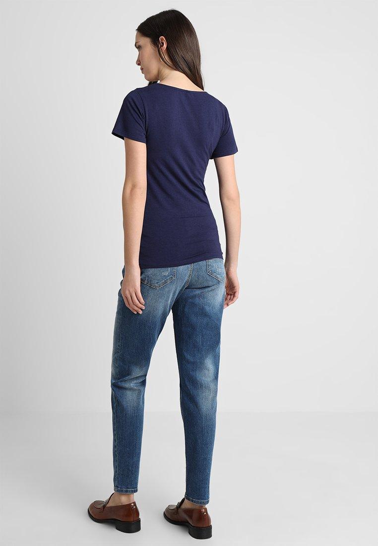 Mllucena BoyfriendJeans Medium Denim Baggy Mamalicious Blue N80nwOvm