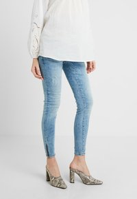 MAMALICIOUS - MLARUBA  - Jeans Skinny Fit - light blue denim - 0