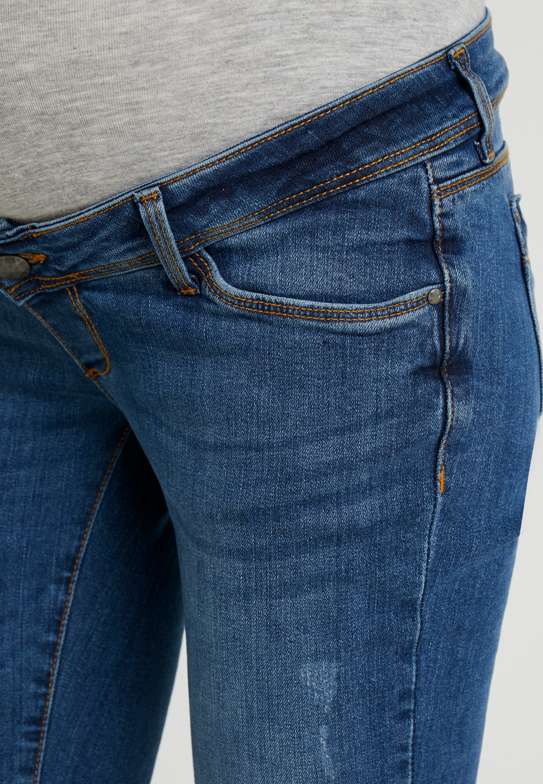 Ohio Slim Light Denim MediumJeans Blue Mamalicious Fit wOnPN8k0X