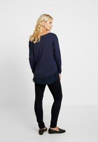 MAMALICIOUS - MLMAIN STUD - Jeans slim fit - dark blue denim - 2