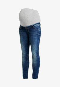 MAMALICIOUS - Jeans Slim Fit - medium blue denim - 3