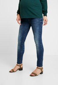 MAMALICIOUS - Jeans Slim Fit - medium blue denim - 0