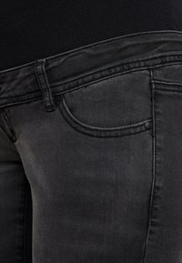 MAMALICIOUS - Jeans Bootcut - black denim - 4
