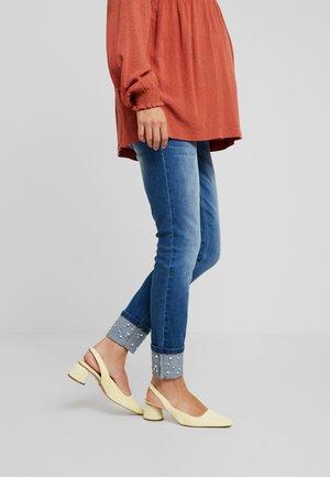 MLTURIN PEARL ANKLE - Jeans Slim Fit - dark blue denim