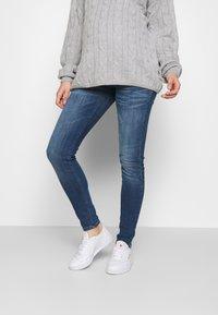 MAMALICIOUS - MLSAVANNA - Jeans Slim Fit - medium blue denim - 0