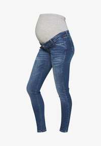 MAMALICIOUS - MLSAVANNA - Slim fit jeans - medium blue denim - 4