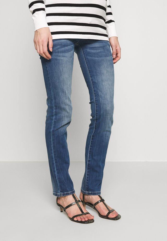 MLVILNIUS - Jeans Straight Leg - medium blue denim