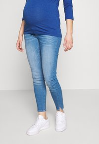 MAMALICIOUS - MLLARGO - Slim fit jeans - light blue denim - 0