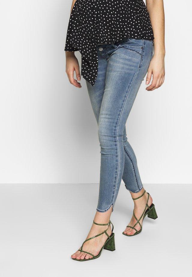 MLLAVAL SPLIT - Jeans Slim Fit - light blue denim