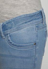 MAMALICIOUS - MLNOME 7/8 SLIM - Jeansy Skinny Fit - light blue denim - 2