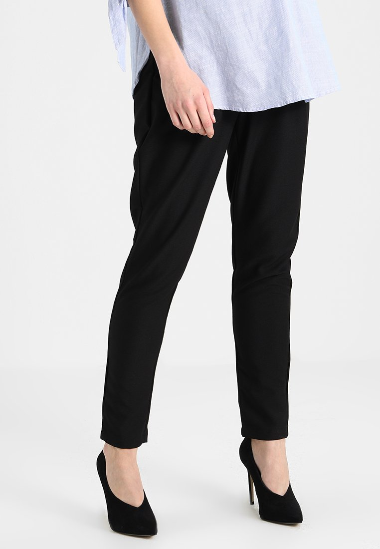 MAMALICIOUS - MLBUSINESS NEW PANT - Tygbyxor - black