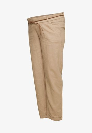 MLBEACH BELT PANT - Kangashousut - brown