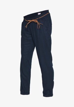 MLBEACH BELT PANT - Trousers - blue