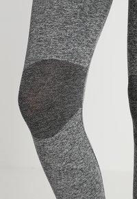 MAMALICIOUS - MLFIT ACTIVE TIGHTS - Leggings - Trousers - grey melange - 4