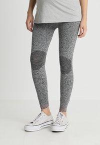 MAMALICIOUS - MLFIT ACTIVE TIGHTS - Leggings - Trousers - grey melange - 0
