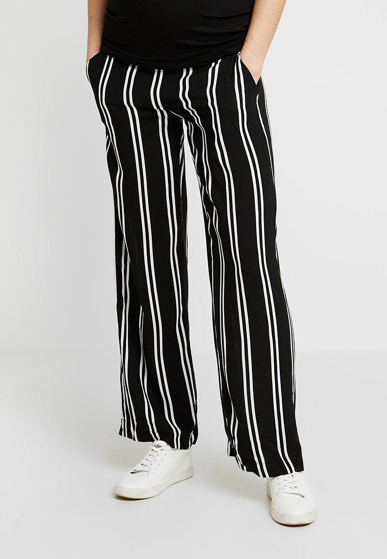 MAMALICIOUS - MLEBONY PANTS - Trousers - salute