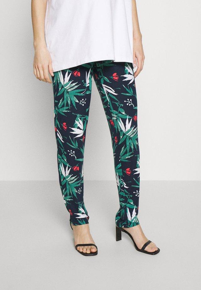 MLPAYTON PANTS - Pantalon de survêtement - navy blazer/spiced coral
