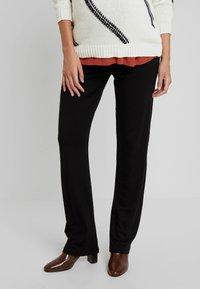 MAMALICIOUS - MLNEW YOGA PANT - Pantalones deportivos - black - 0