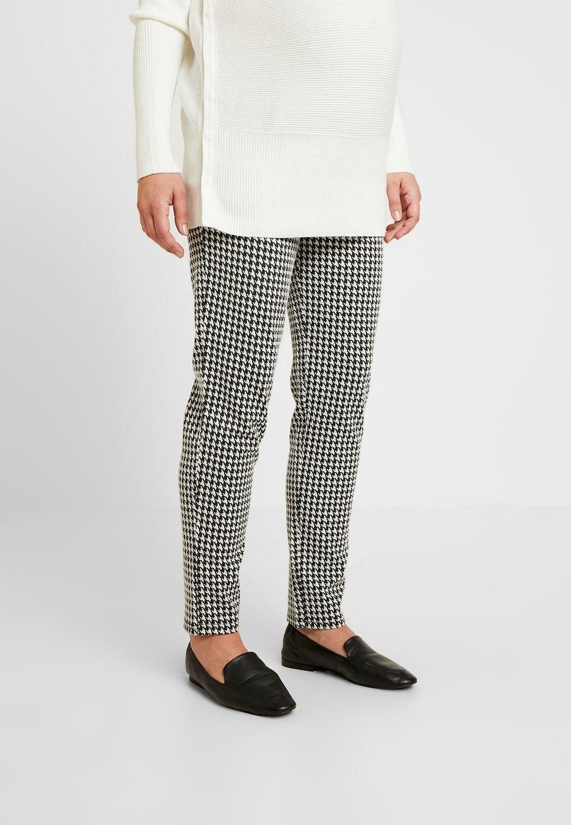 MAMALICIOUS - MLKAROLINA PANTS - Trousers - black