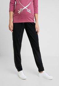 MAMALICIOUS - PANTS - Pantalones deportivos - black - 0