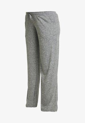 MLEVITA PANT - Tracksuit bottoms - medium grey melange