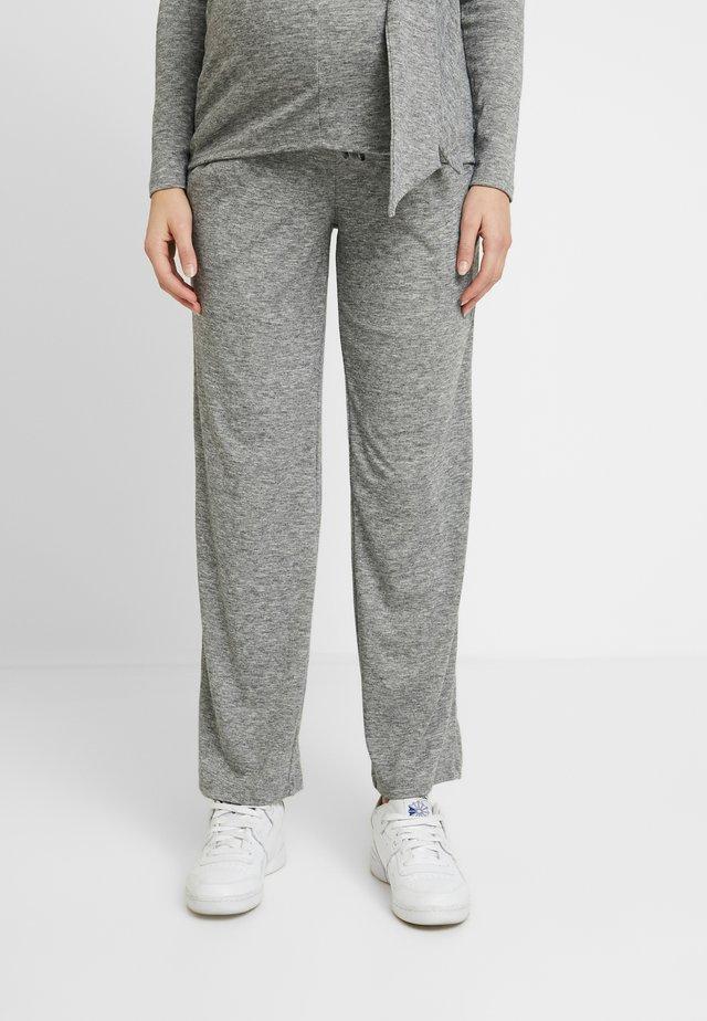 MLEVITA PANT - Jogginghose - medium grey melange