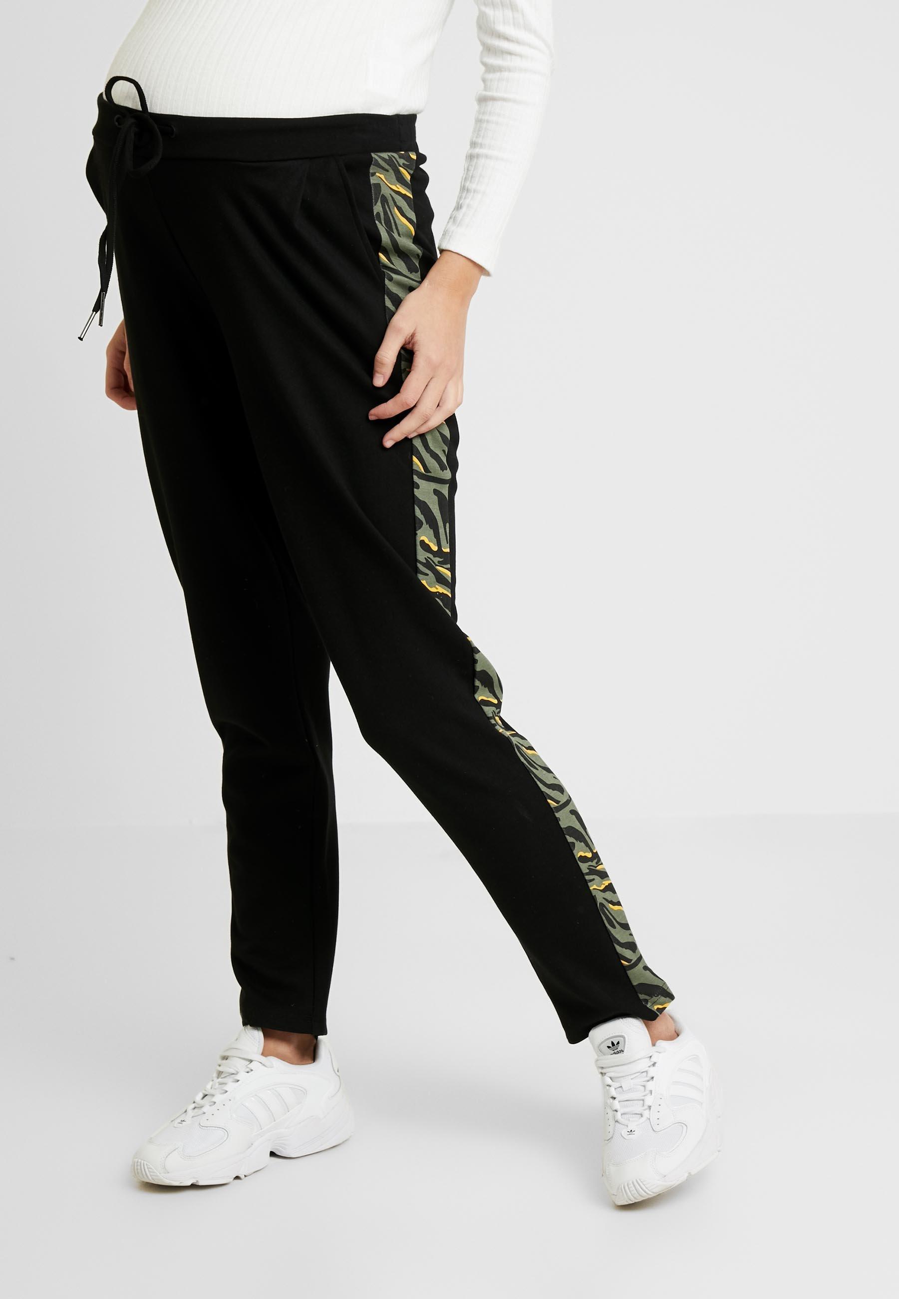 MAMALICIOUS MLANIMEPANT - Pantalon classique black