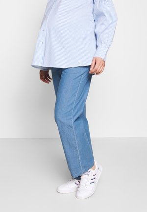 MLXANDRA PANTS - Pantalones - light blue