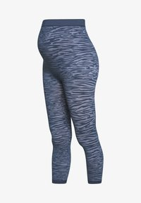 MAMALICIOUS - MLPARIA ACTIVE TIGHT - Legginsy - navy blazer