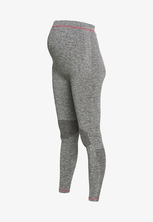 ACTIVE TIGHTS  - Legginsy - medium grey melange