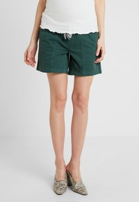 MAMALICIOUS - MLCANCUN BELTED - Shorts - dark forest - 0