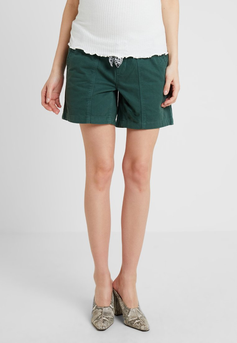 MAMALICIOUS - MLCANCUN BELTED - Shorts - dark forest