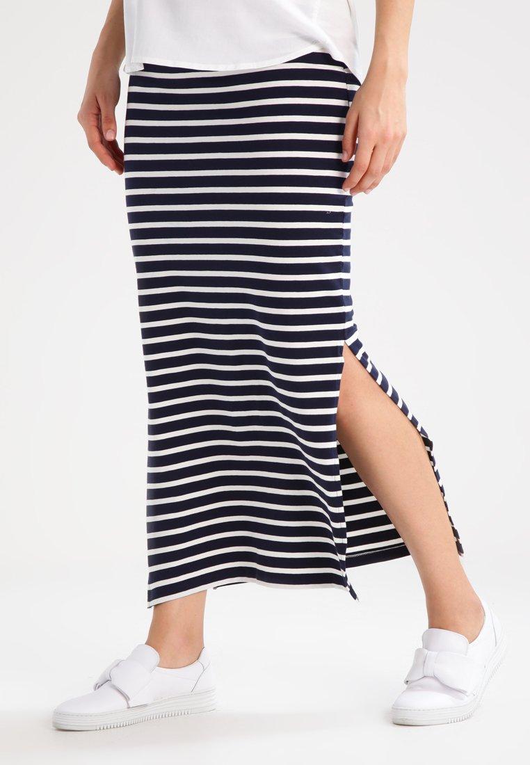 MAMALICIOUS - MLLEA - Maxi sukně - navy blazer