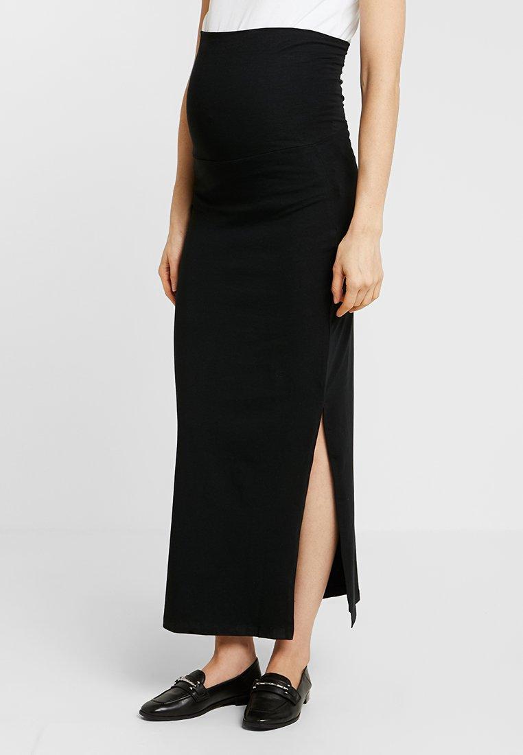 MAMALICIOUS - MLLEA TUBE SKIRT - Długa spódnica - black
