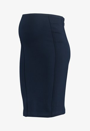 MLLUNA PINTUC SKIRT - Falda de tubo - navy blazer