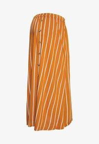 MAMALICIOUS - MLSINEM MIDI SKIRT - Pencil skirt - leather brown - 3