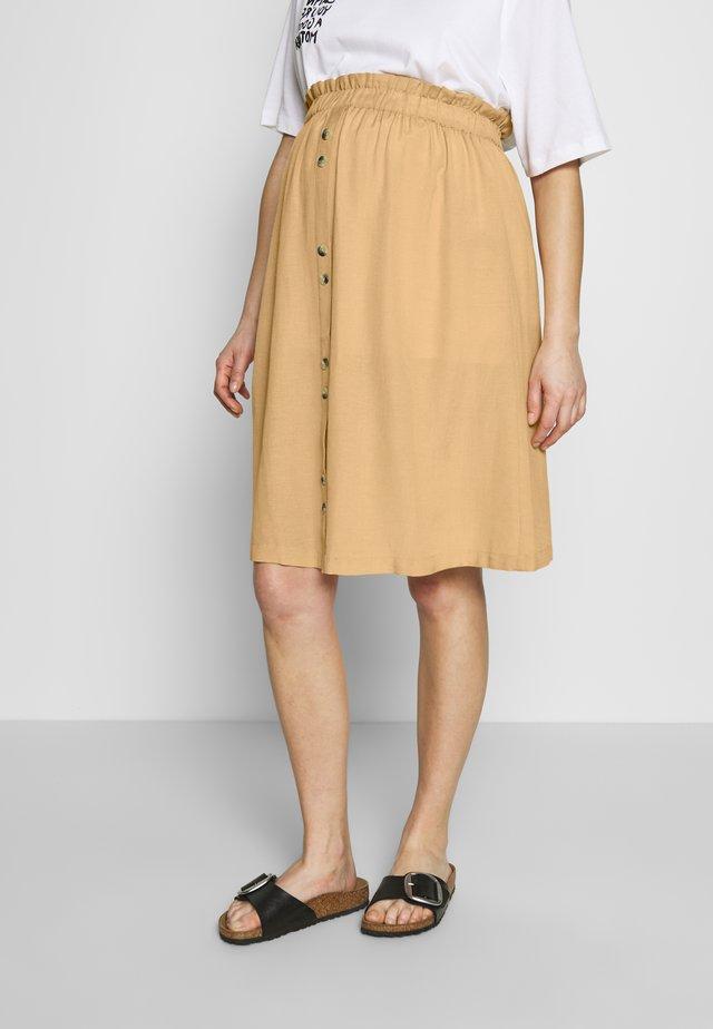 MLNOELLE WOVEN SKIRT - A-line skirt - sesame